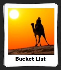 100 Pics Bucket List Answers