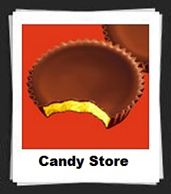 100 Pics Candy Store Answers