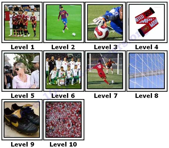 100 Pics Football Focus Answers1