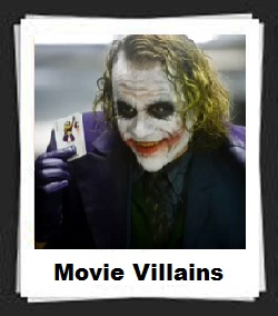 100 Pics Movie Villains Answers