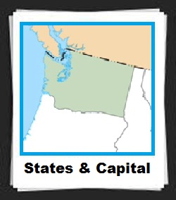 100 Pics States & Capital Answers