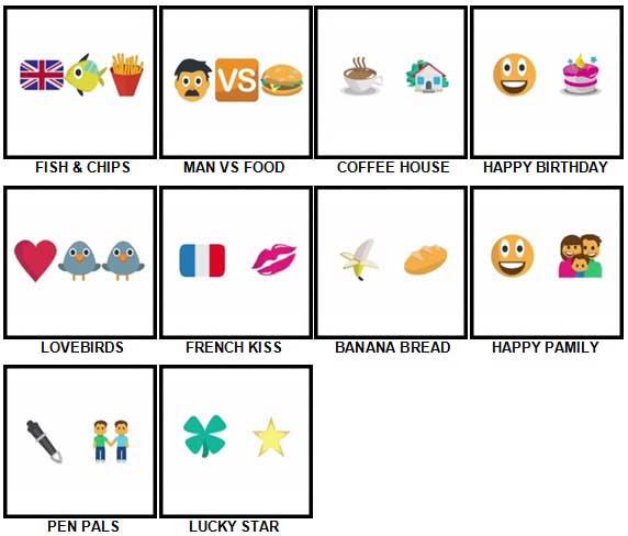 100 Pics Emoji Quiz Answers 100 Pics Answers