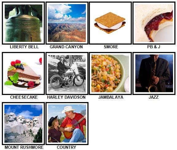 100 Pics I Love USA Answers 41-50