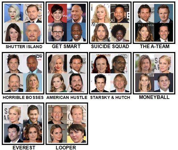 100 Pics 4 Stars 1 Movie Level 41-50
