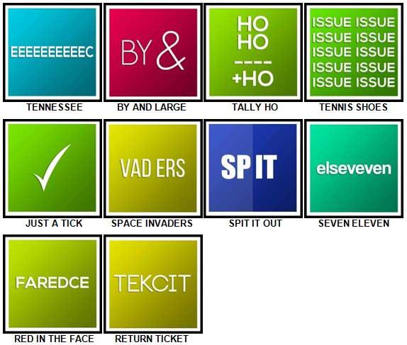 100 Pics Catchphrases Level 71-80 Answers