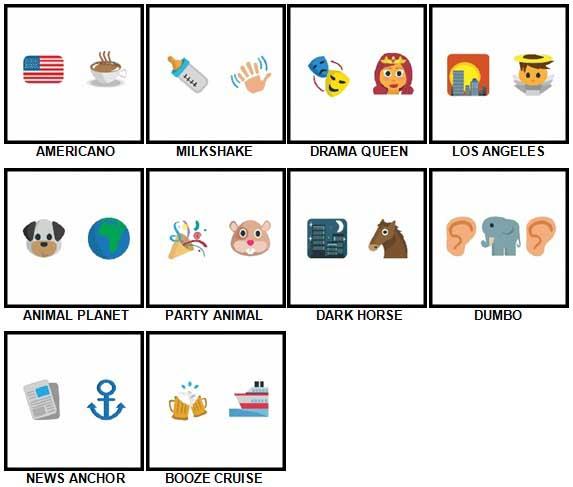 Célèbre 100 Pics Emoji Quiz 2 Level 21-30 Answers | 100 Pics Answers GP92
