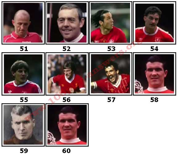 100 Pics Liverpool FC Icons Level 51 Answers