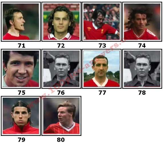 100 Pics Liverpool FC Icons Level 71 Answers