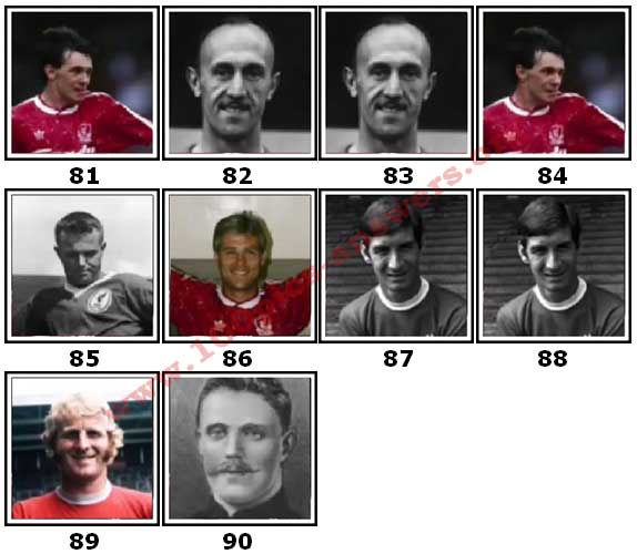 100 Pics Liverpool FC Icons Level 81 Answers