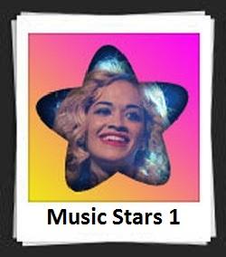 100 Pics Music Stars 1 Answers