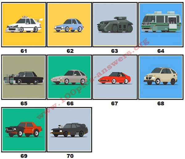 100 Pics Star Cars Level 61 70 Answers 100 Pics Answers