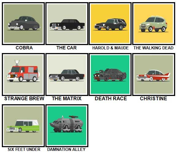 100 Pics Star Cars Level 71-80 Answers
