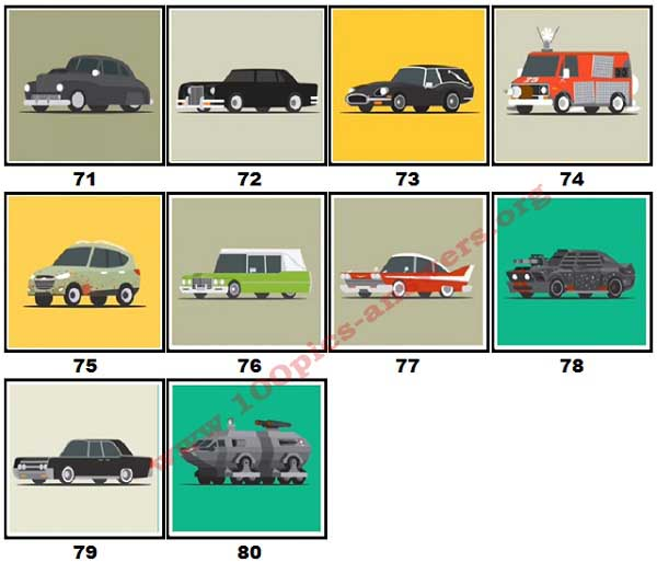 100 Pics Star Cars Level 71 80 Answers 100 Pics Answers
