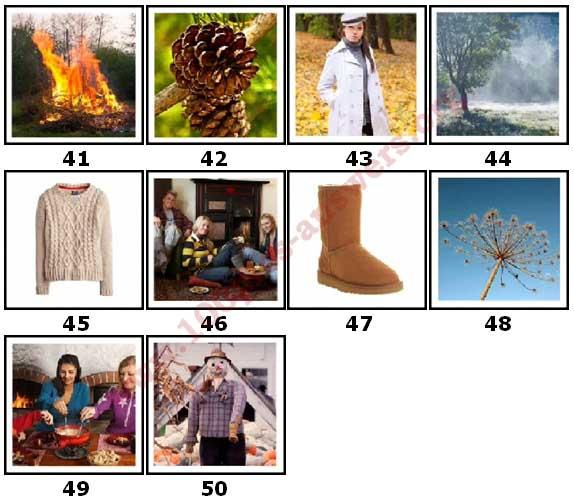 100 Pics Autumn Level 41 Answers