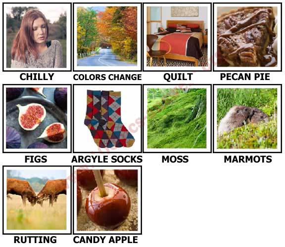 100 Pics Autumn Level 61-70 Answers