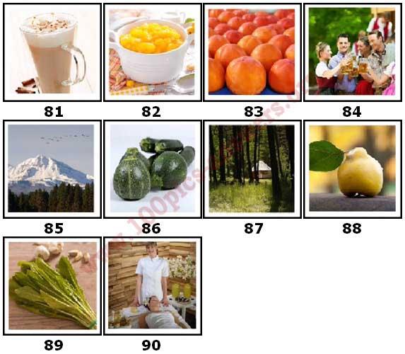 100 Pics Autumn Level 81 Answers
