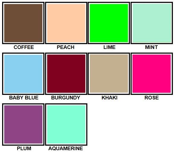 100 Pics Colours Level 21-30 Answers