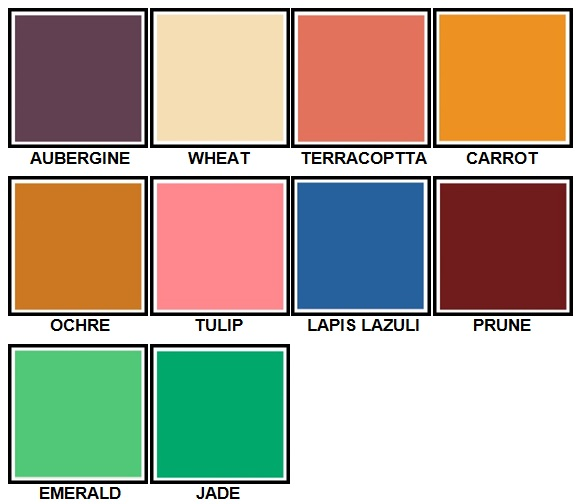 100 Pics Colours Level 61-70 Answers