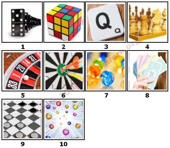 100 Pics Games Level 1 Answers