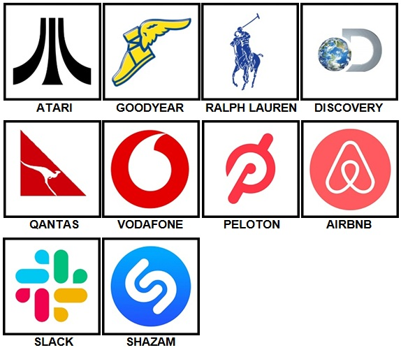 100 Pics Logos Level 91 100 Answers 100 Pics Answers