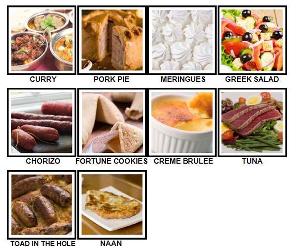 100 Pics Taste Test Level 71-80 Answers