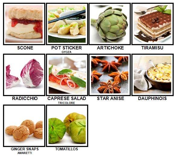 100 Pics Taste Test Level 91-100 Answers