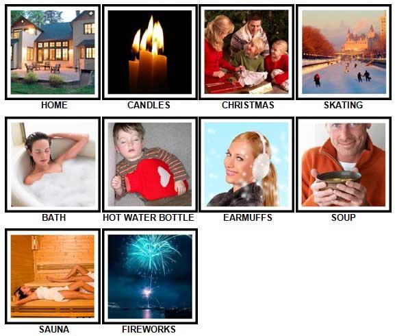 100 Pics Winter Answers 1-10