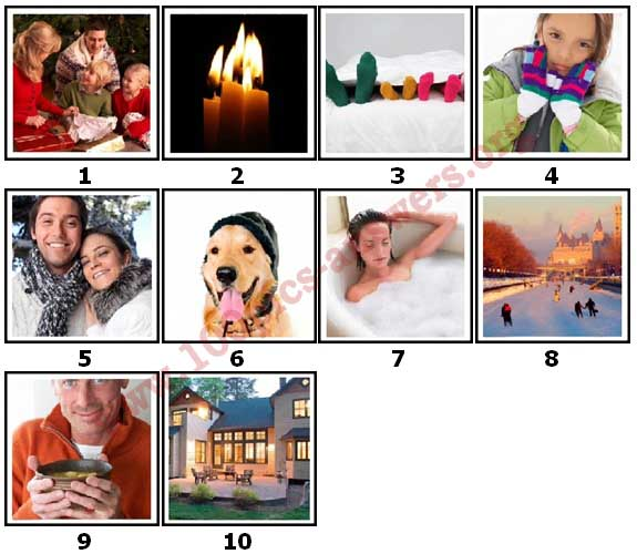 100 Pics Winter Level 1 Answers