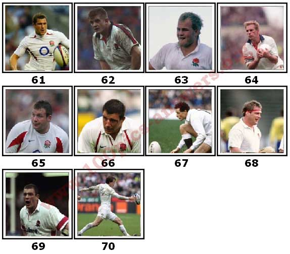 100 Pics England Rugby Level 61 Answers