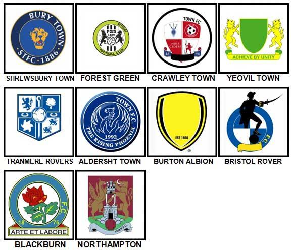 100-pics-football-quiz-team-logos-level-91-100-answers | 4 Pics 1 ...