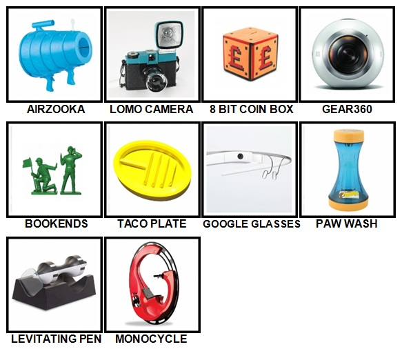100 Pics Gadgets Level 81-90 Answers