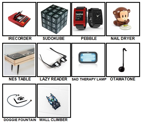 100 Pics Gadgets Level 91-100 Answers