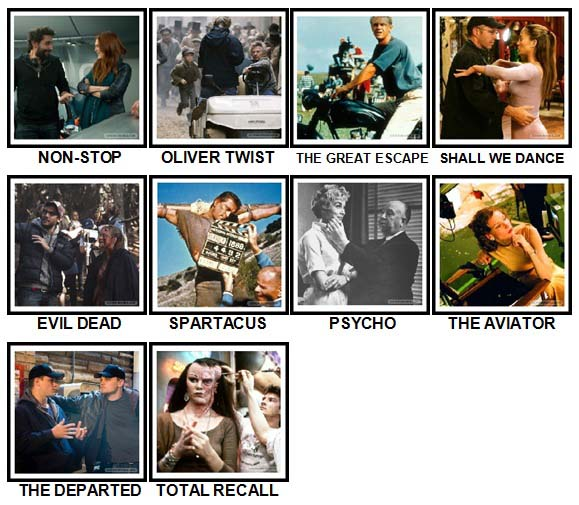 100 Pics Movie Sets Level 71-80 Answers