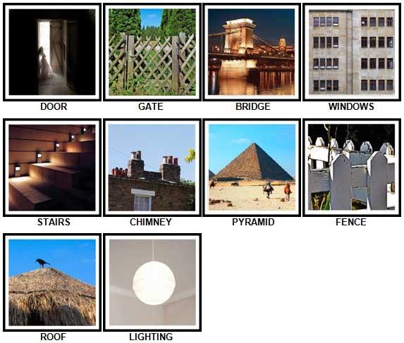 100 Pics Architecture Answers 1-10