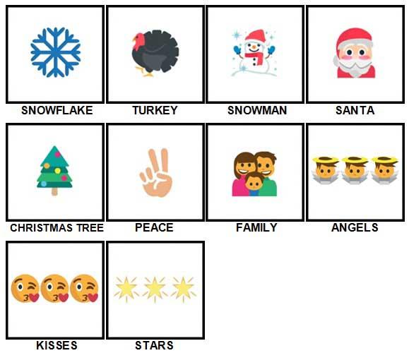100 Pics Christmas Emoji.100 Pics Christmas Emoji Answers 100 Pics Answers