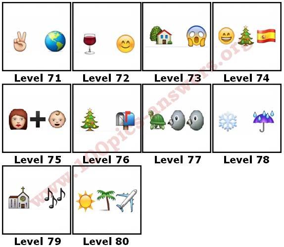 100 Pics Christmas Emoji.100 Pics Christmas Emoji Level 71 80 Answers 100 Pics Answers