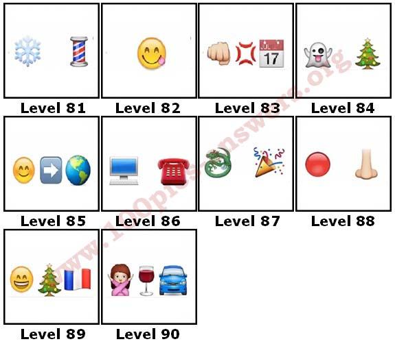100 Pics Christmas Emoji.100 Pics Christmas Emoji Level 81 90 Answers 100 Pics Answers