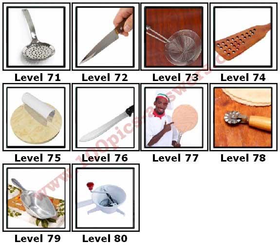 100 Pics Kitchen Gadgets Answers71