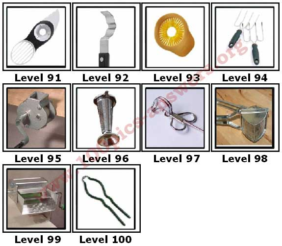 100 Pics Kitchen Gadgets Answers91