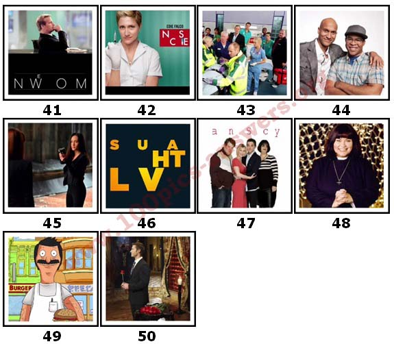 100 Pics TV Shows 2 Answers41