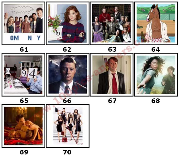 100 Pics TV Shows 2 Answers61