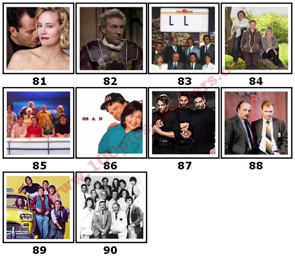 100 Pics TV Shows 2 Answers81
