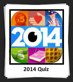 100 Pics 2014 Quiz Answers