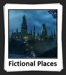 100 Pics Fictional Places Answers