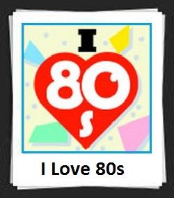 100 Pics I Love 80s Answers