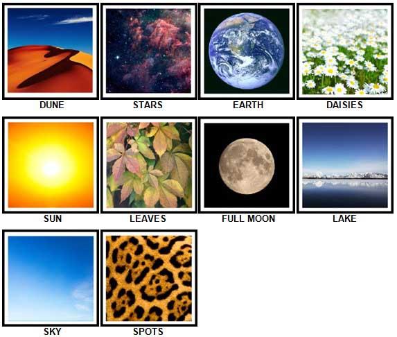 100 Pics Nature Answers 1-10