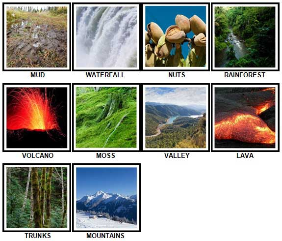 100 Pics Nature Level 21-30 Answers