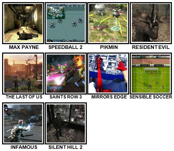 100 Pics Video Games Level 81-90 Answers