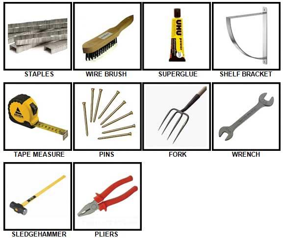100 Pics Toolbox Answers 21-30