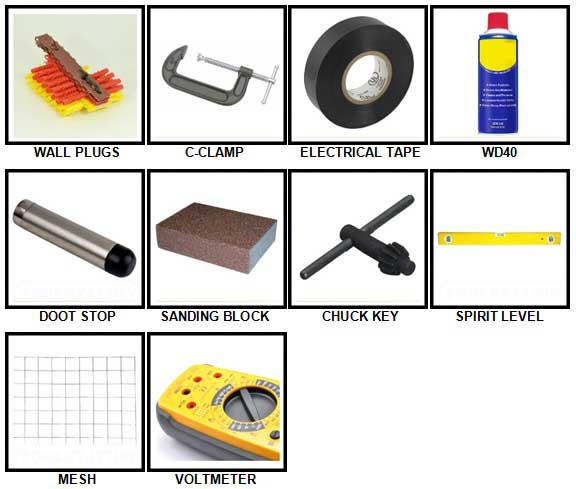 100 Pics Toolbox Answers 51-60